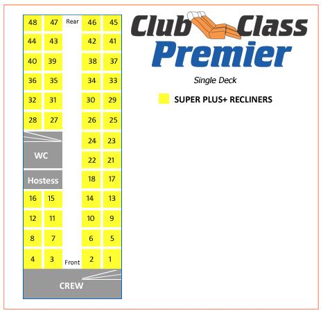Club Class Premier 46 seats