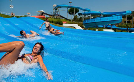 Aquadiver Water Park : open 08/06 to 11/09