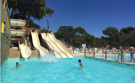 Cala Gogo water slides